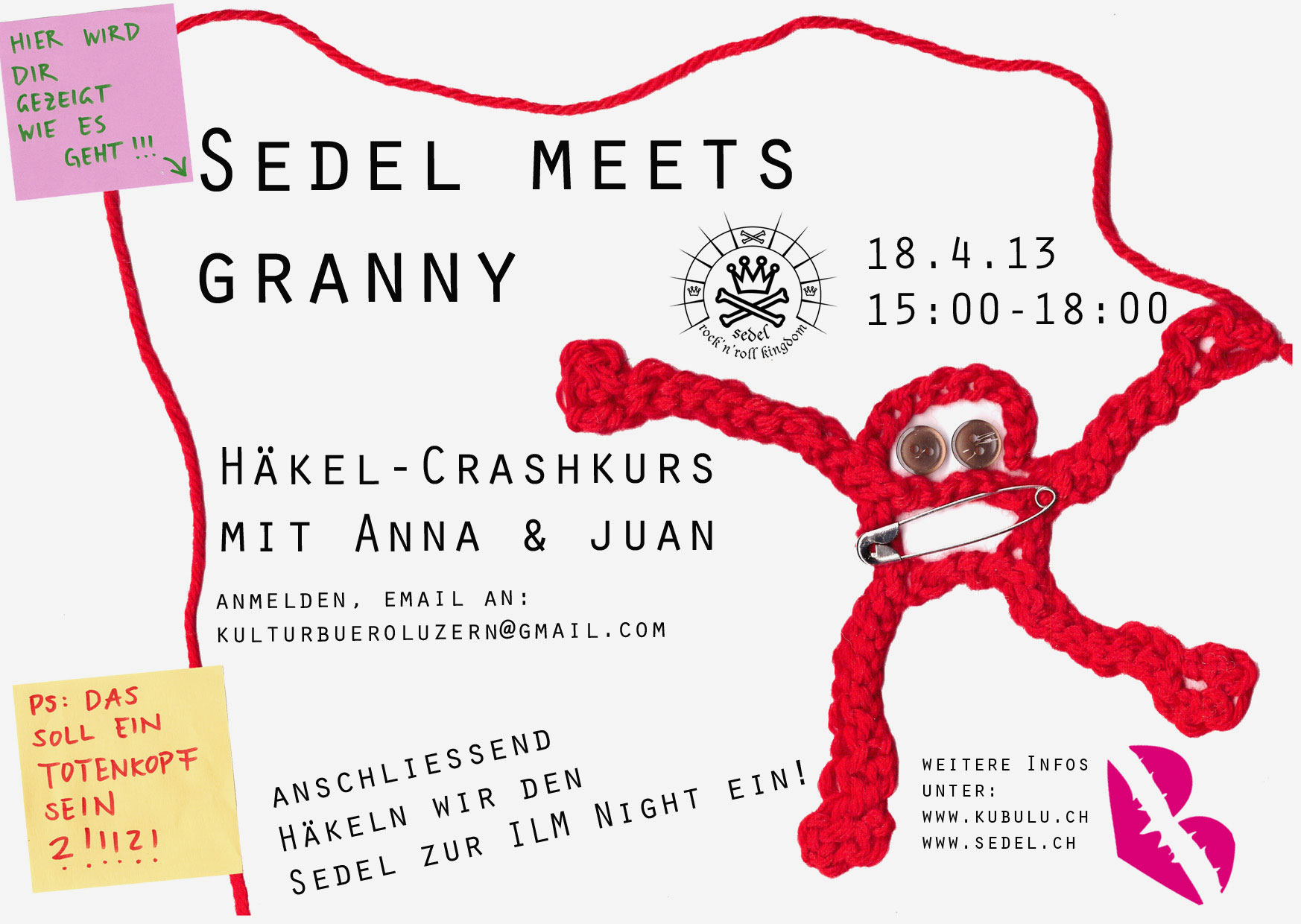Sedel Meets Granny – Flyer