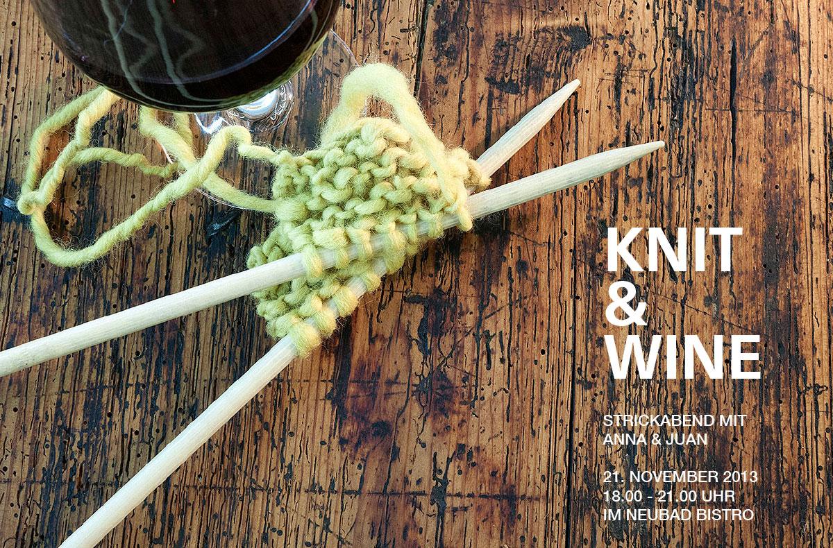 Anna & Juan – Knit & Wine #1