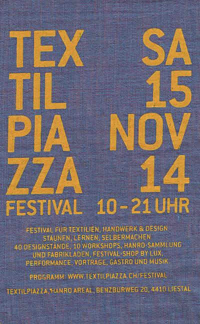 Textilpiazza-Festival 2014