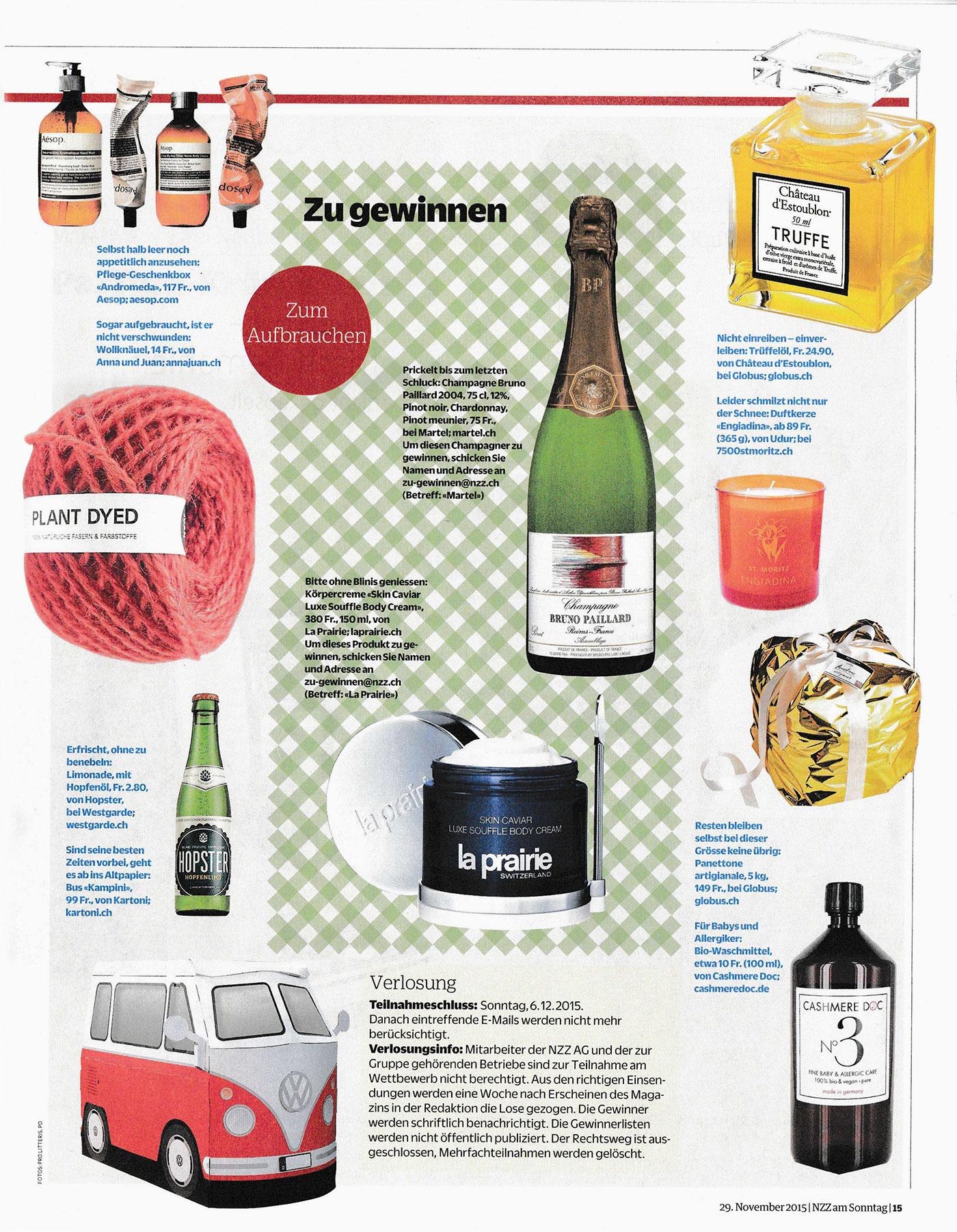NZZ Stil Magazin – Anna & Juan