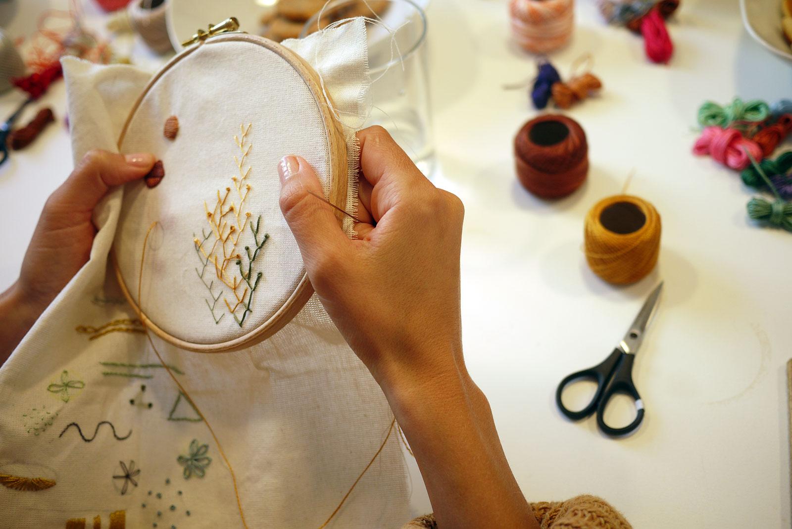 Guillermina Baiguera – Embroidery
