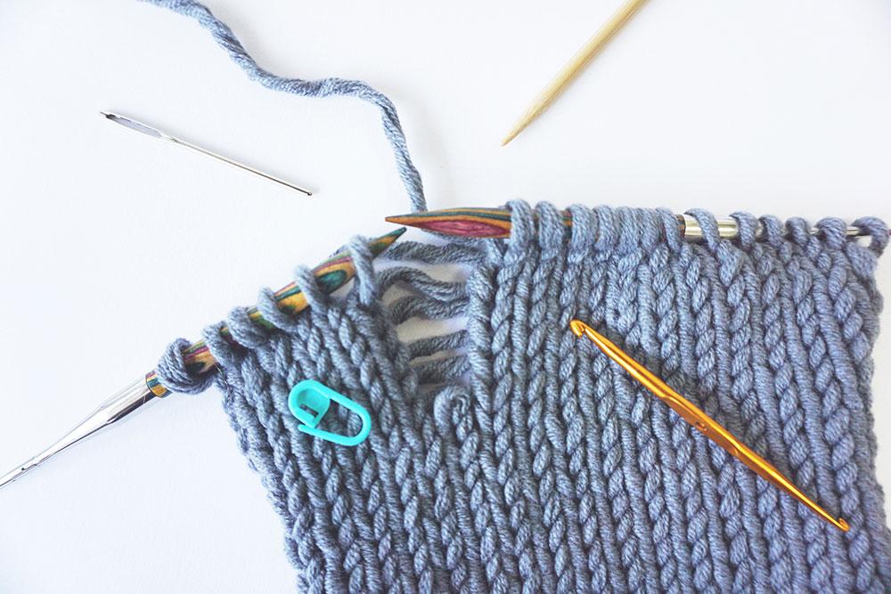 Fixing Knitting Mistakes Anna Juan