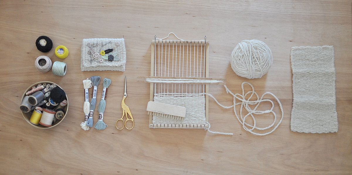 Miga de Pan – Weaving an Embroidery
