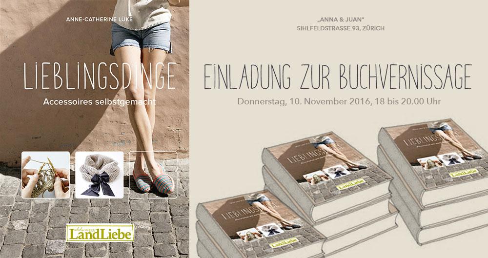 Anne Catherine Lücke – Lieblingsdinge – Buchvernissage