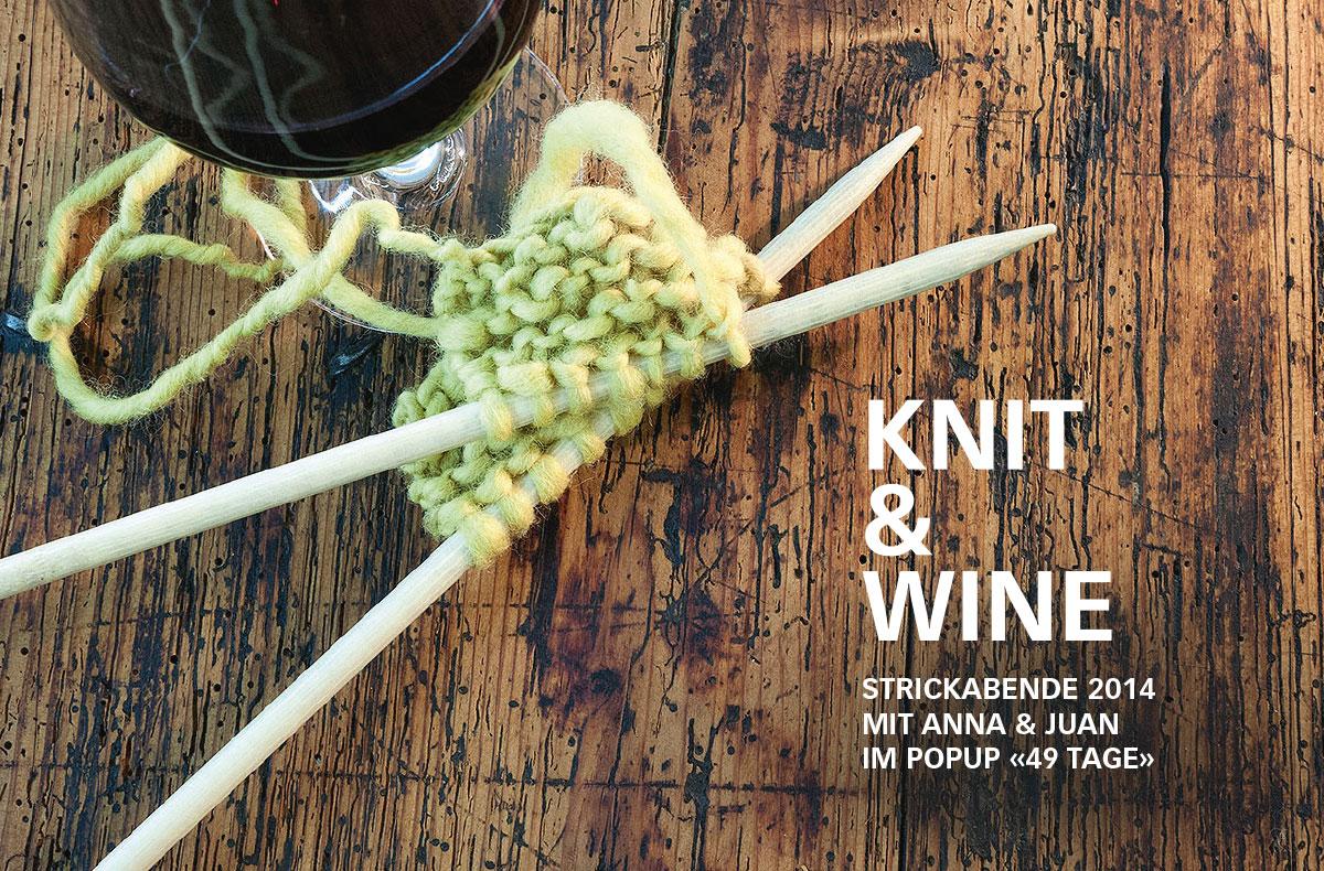 Anna & Juan – Knit & Wine
