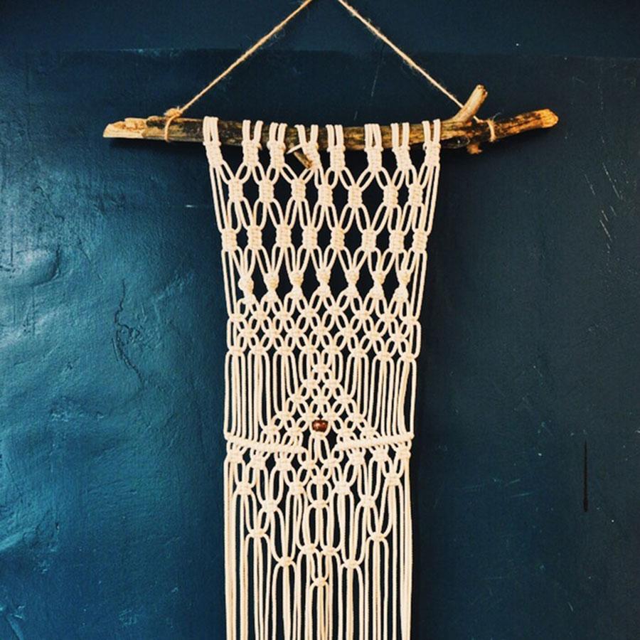 Dörte Bundt – Makramee – Wandbehang