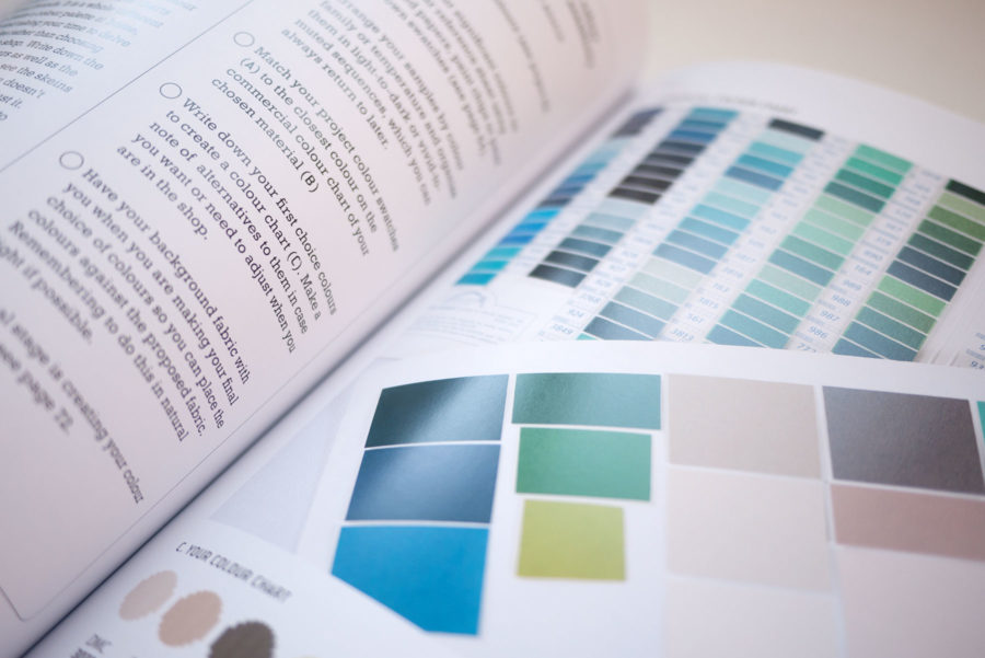 Colour Confident Stitching – Karen Barbé