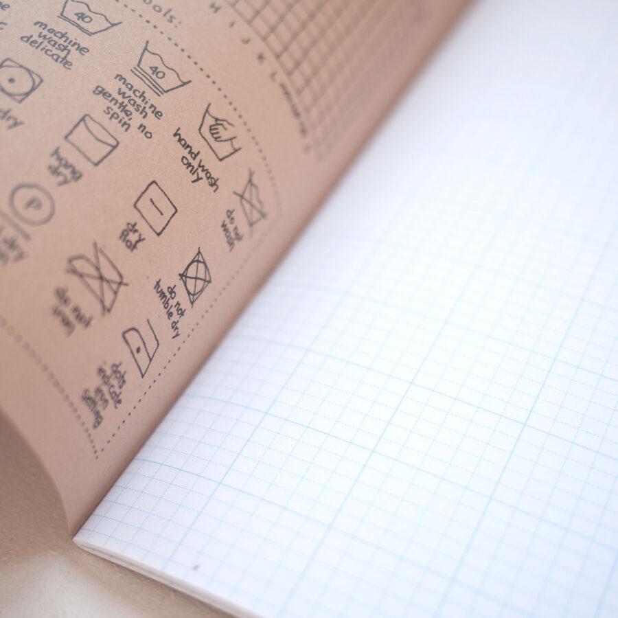 Knitters Graph Paper Journal