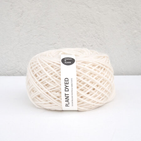 "Anna & Juan Wool ""Plant Dyed"" – Merino Twisted"