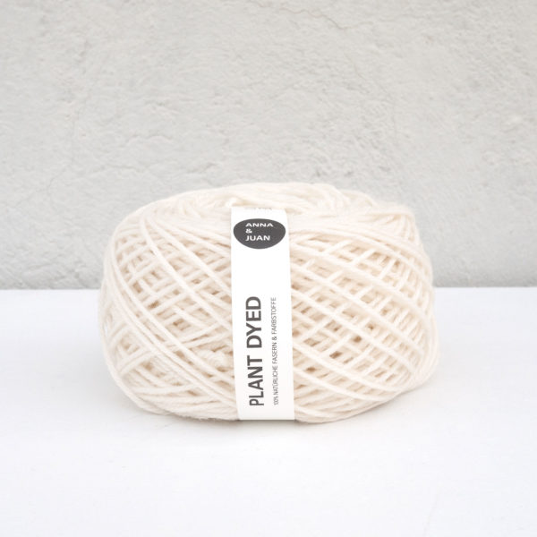 Anna & Juan Wolle «Plant Dyed» – Merino Twisted