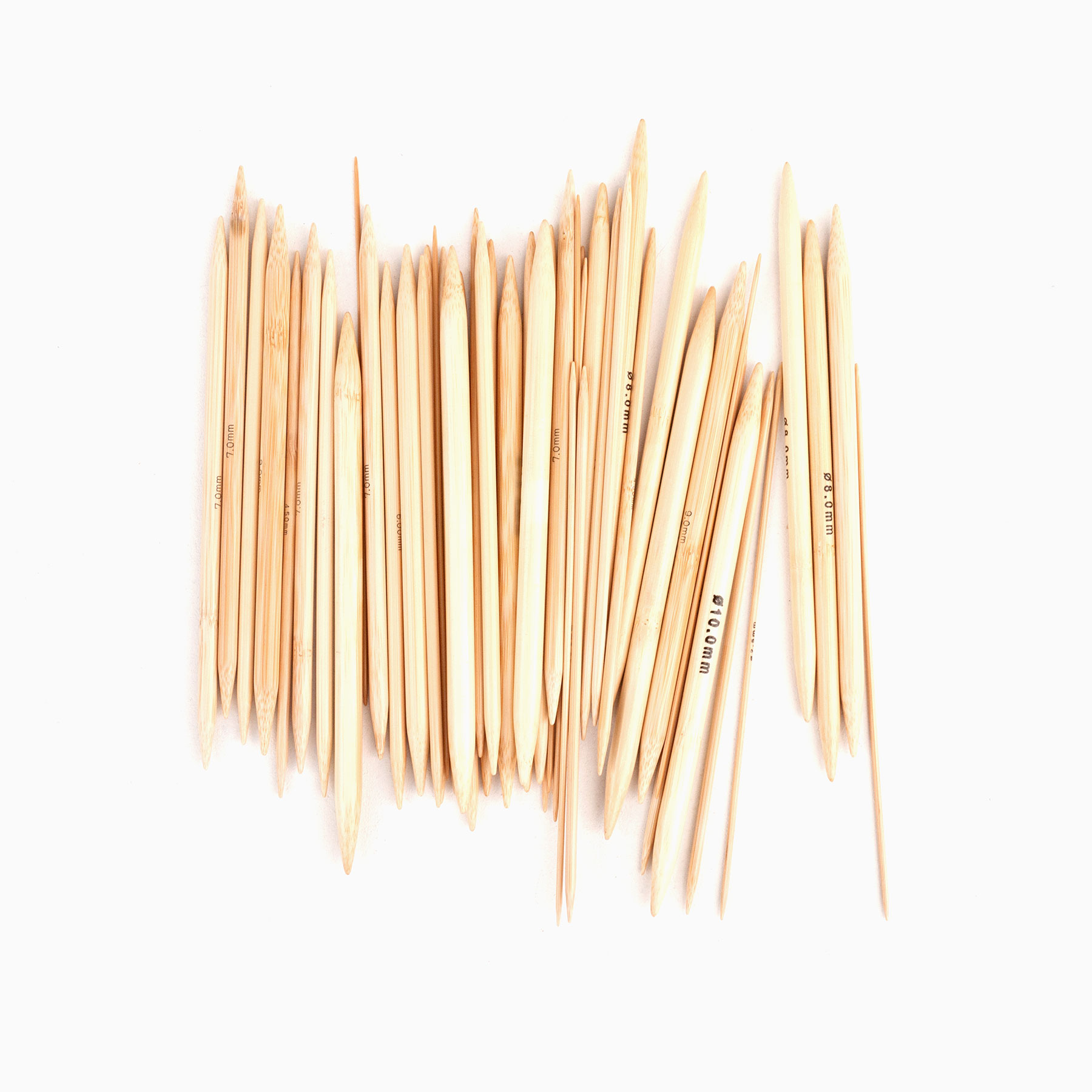 Nadelspiele aus Bambus – Iris