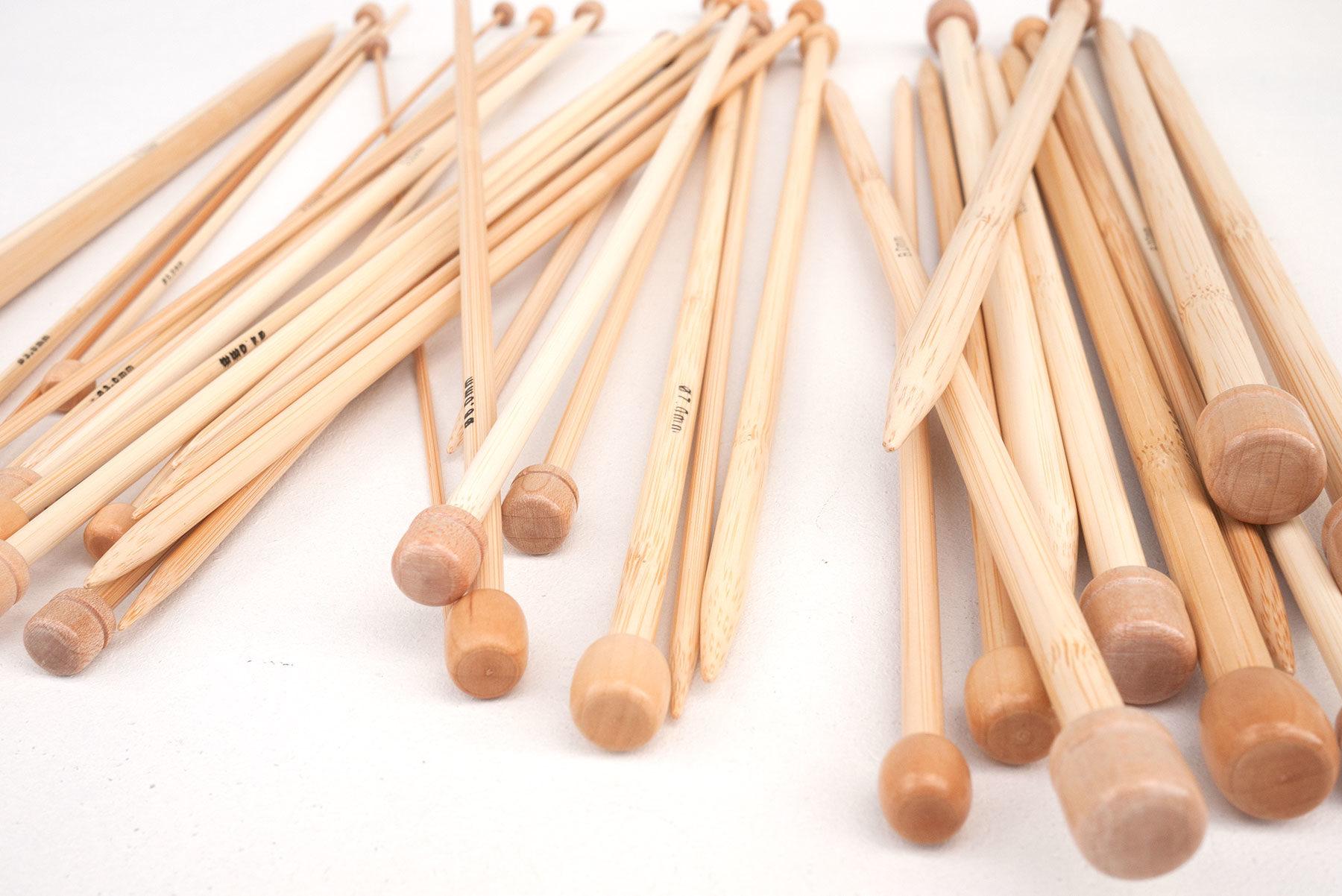 Stricknadeln (Paare) – Bambus – Iris