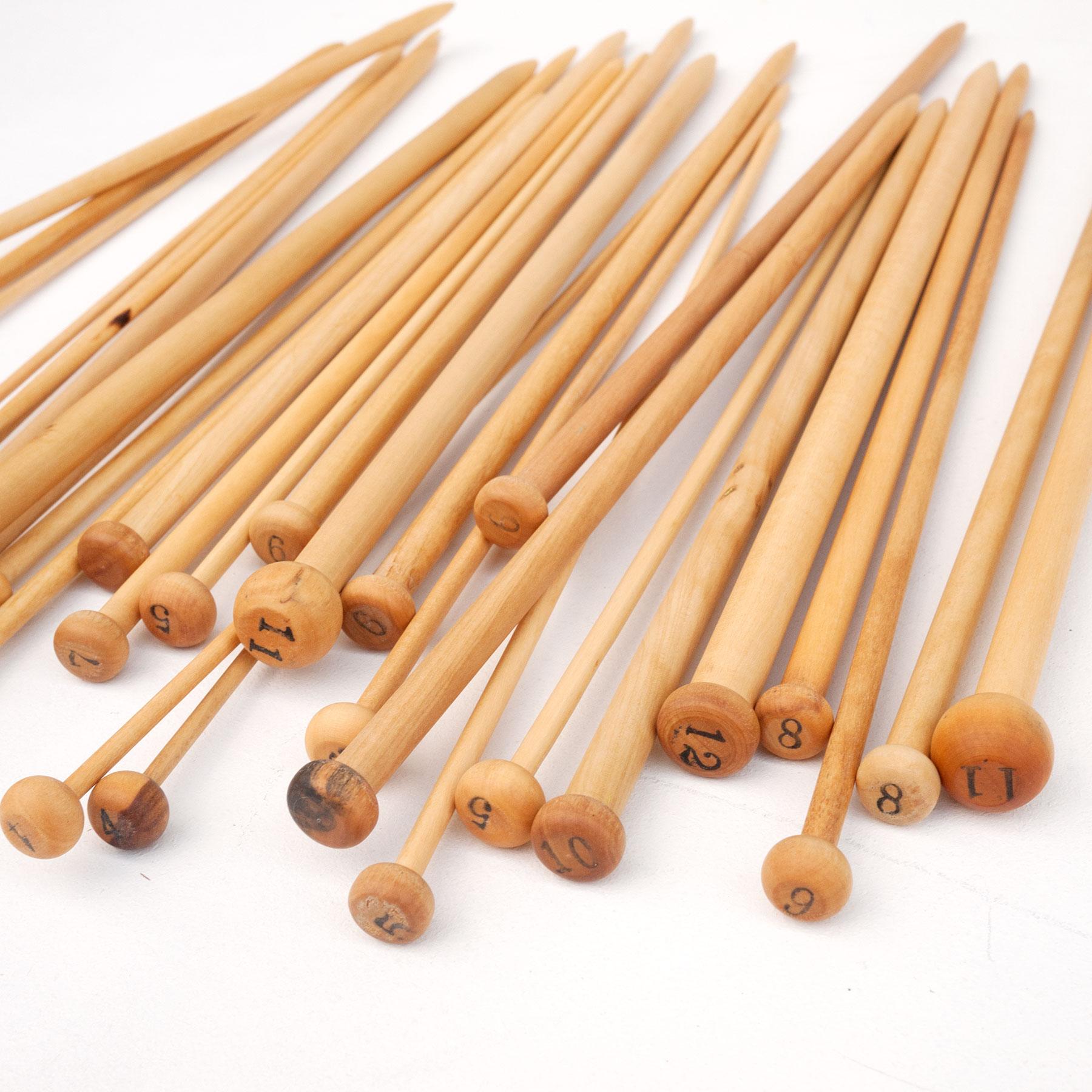 Stricknadeln (Paare) – Holz