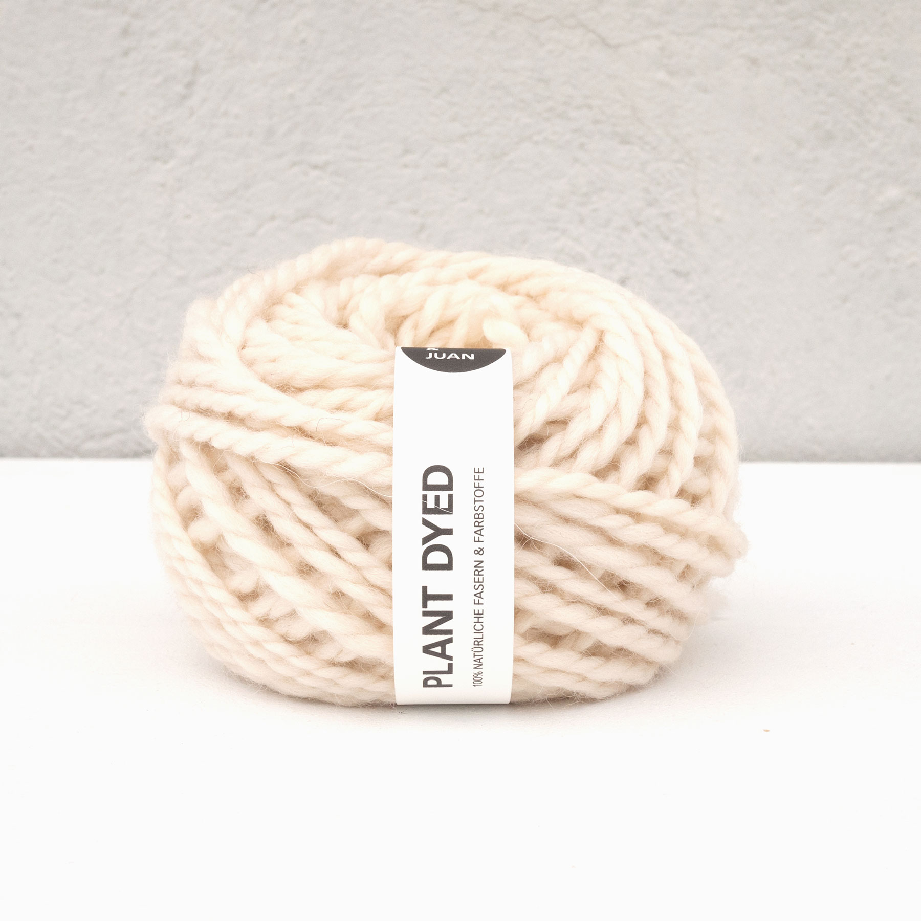 Anna & Juans «Landwolle Argentinien – Plant Dyed» – Chunky/Super Bulky