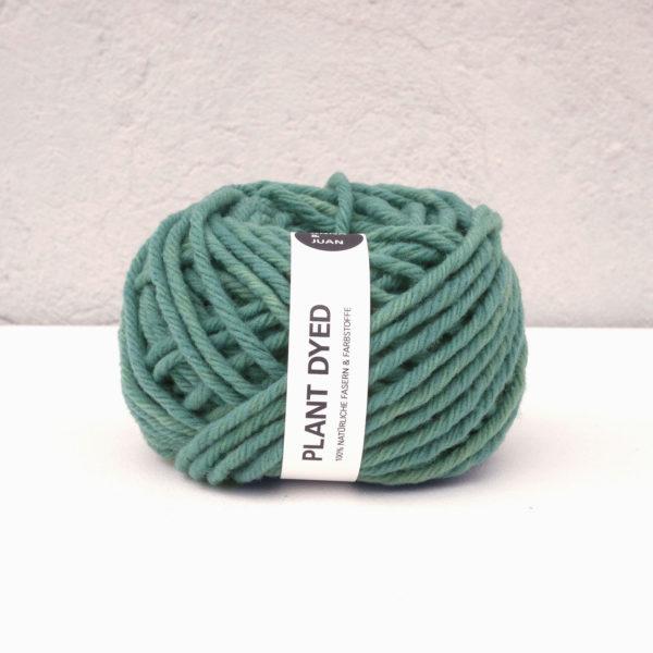 Anna & Juan Garn «Plant Dyed» – Spanische Merino – Chunky – Birke/Indigo