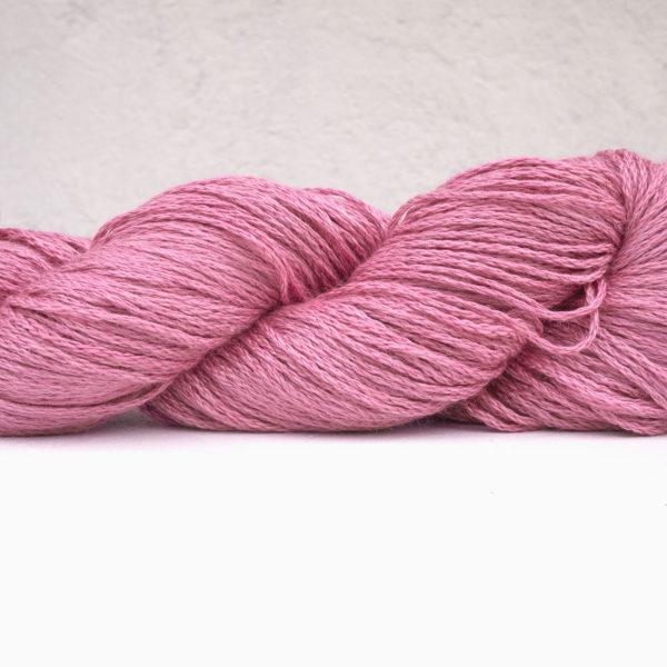Anna & Juan «Plant Dyed» – Seide/Alpaka Royal – Sport Weight/DK – Pink