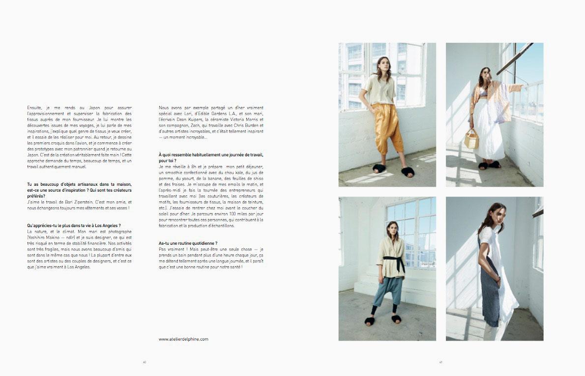 Atelier Delphine – Toc Toc Toc Magazine – Issue 16 – Portland