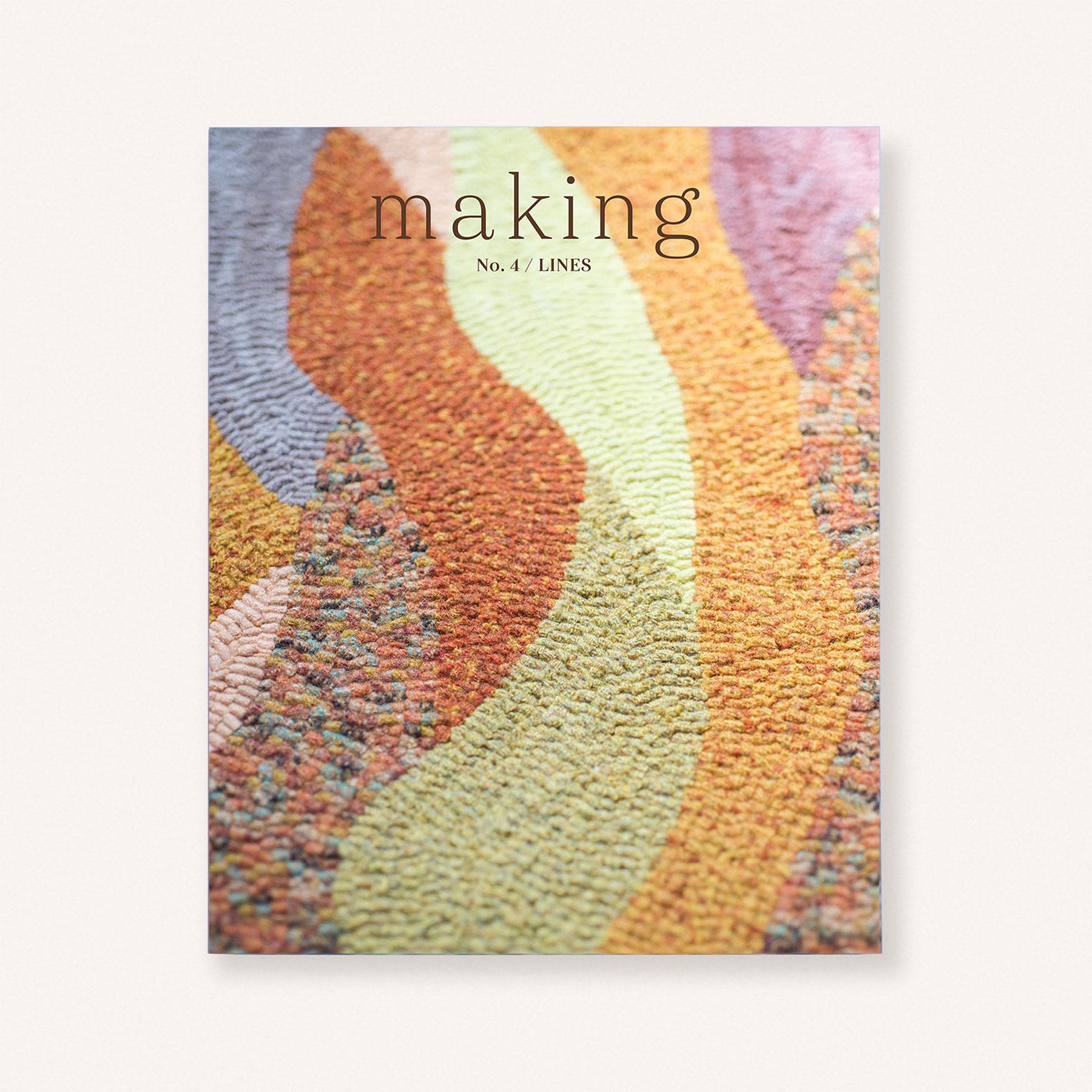 Making Magazine No. 4 / Lines