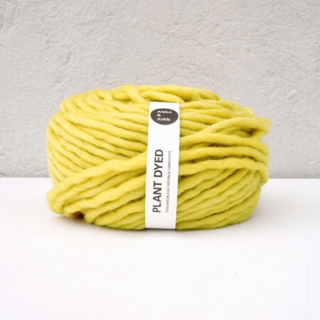 Anna & Juan Garn «Plant Dyed» – Bulky Merino – Super Bulky/Roving Weight – Reseda luteola