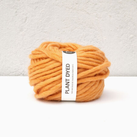 Anna & Juan Garn «Plant Dyed» – Bulky Merino – Super Bulky/Roving Weight – Coreopsis