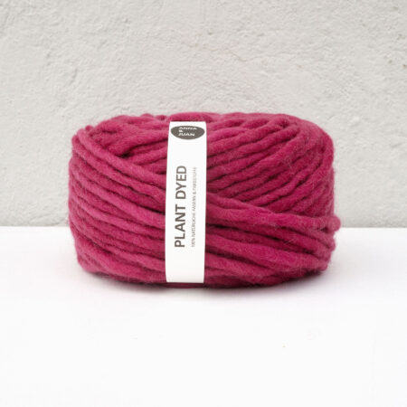 Anna & Juan Garn «Plant Dyed» – Bulky Merino – Super Bulky/Roving Weight – Cochenille