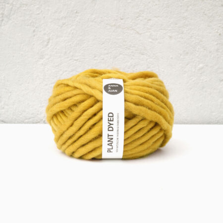 Anna & Juan Garn «Plant Dyed» – Bulky Merino – Super Bulky/Roving Weight – Färbermaulbeerbaum