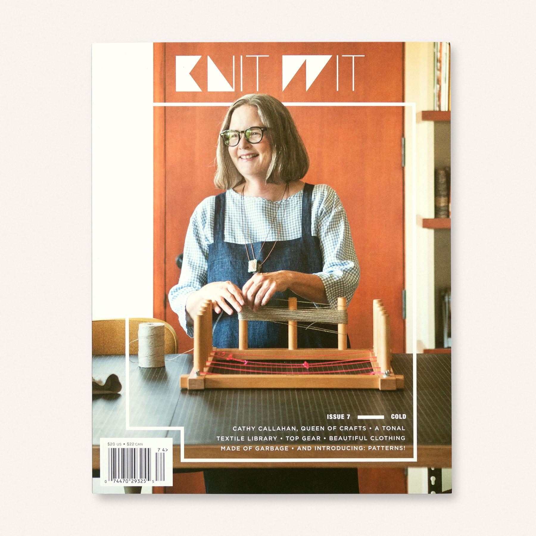 Knit Wit Magazine Issue 7 | Anna & Juan