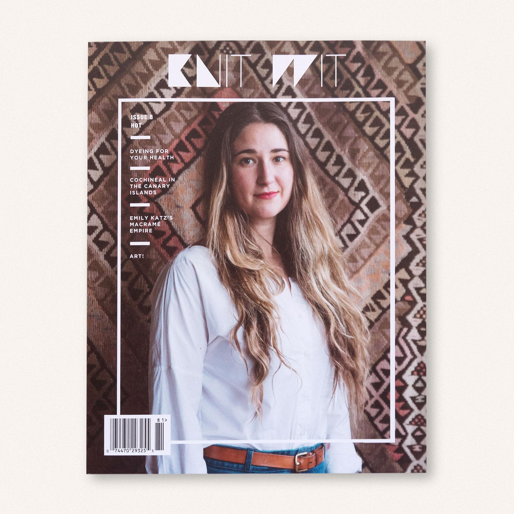 Knit Wit Magazine Issue 8 | Anna & Juan