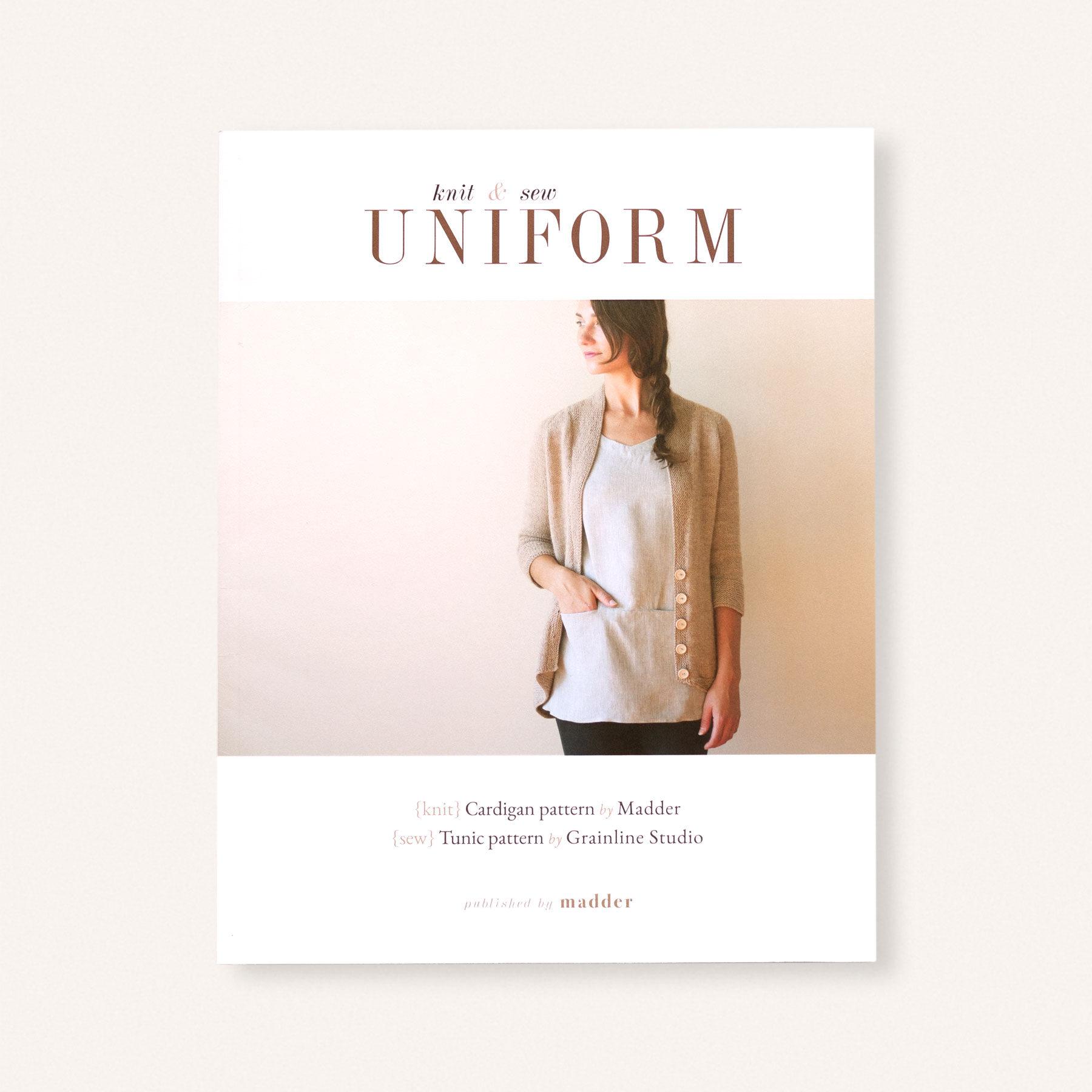 Uniform – Knit & Sew – Book and E-Book | Anna & Juan